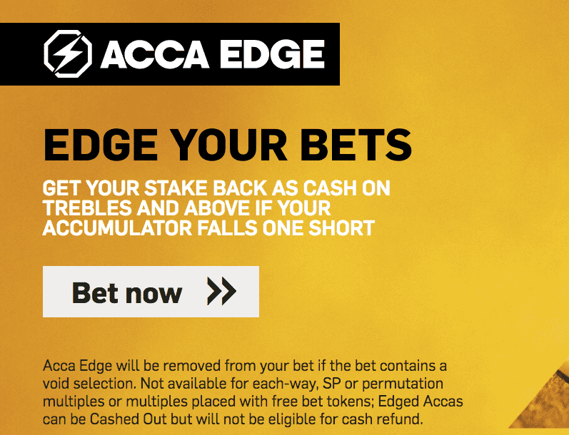Betfair Acca Edge explained