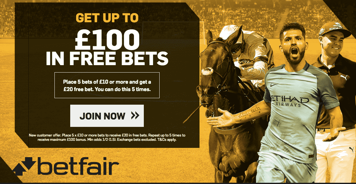Betfair new weclome offer 2017 up to 100 GBP