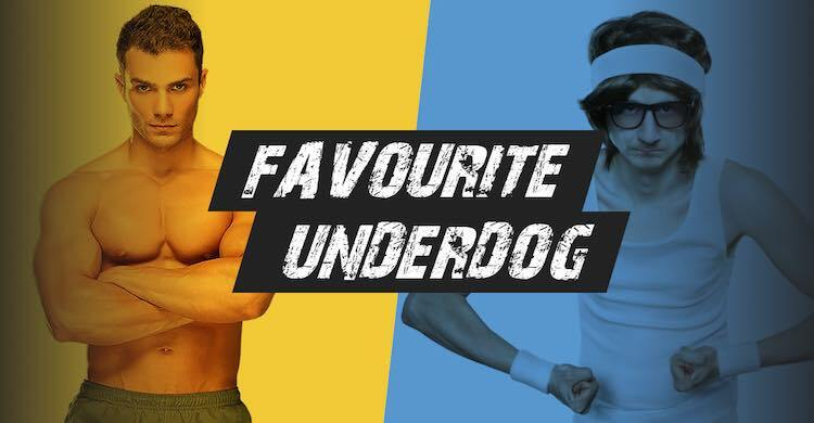favorite vs underdoog