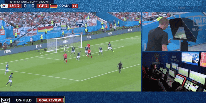 var DE vs South Korea explained