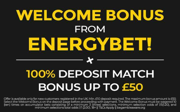 minimum with deposit sites betting 5 pound
