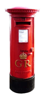 UK post box