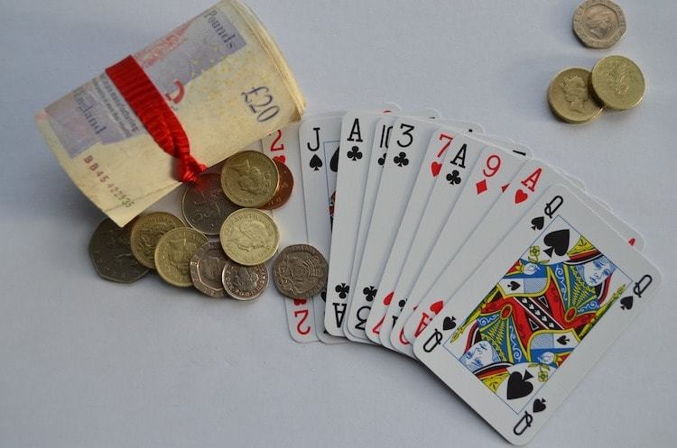 playing cards pounds