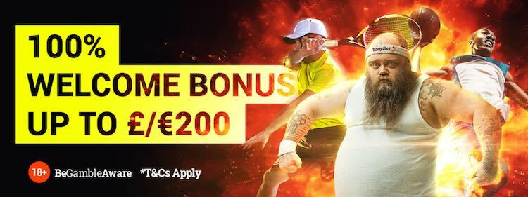 tonybet welcome offer